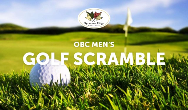 OBC Men's Golf Scramble