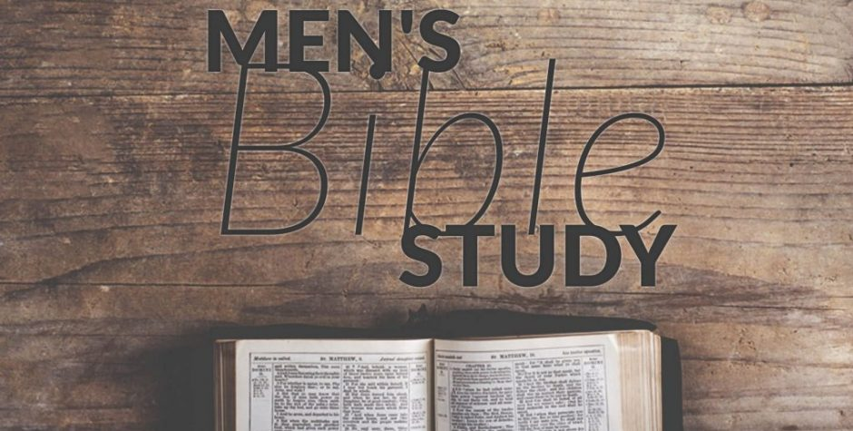 "Men's Bible Study: ""Authentic Manhood"""